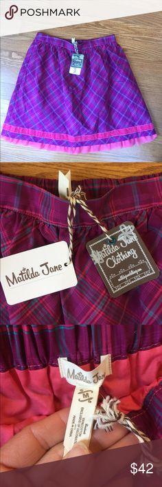 Matilda Jane ladies' Tinsley skirt medium NWT! Matilda Jane NWT Tinsley skirt. Women's Medium. Sooo cute!! Perfect! Smoke and pet free home. Matilda Jane Skirts