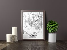 Excited to share the latest addition to my #etsy shop: Vacaville map print, Minimalistic wall art poster, California gifts, Birthday Gift, For father, Father Black And White Wall Art, Black And White Posters, Bathroom Artwork, Artwork Prints, Poster Prints, Texas Gifts, Art Pieces, Minimalist, Birthday Gifts