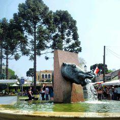 """fonte """"cavalo babão"""", centro histórico"""