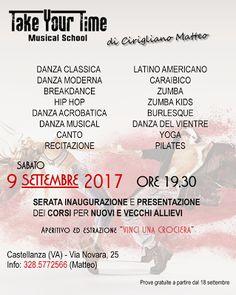 TAKE YOUR TIME MUSICAL SCHOOL - diretta da Matteo Cirigliano.