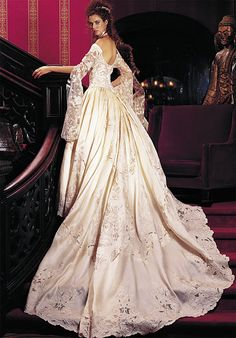 St. Pucchi - oldies but goodies  This was my St. Pucchi wedding dress with different sleeves!