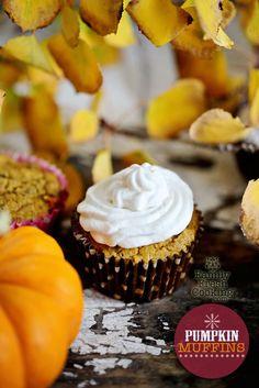 Whole Grain Pumpkin Muffins | FamilyFreshCooking.com