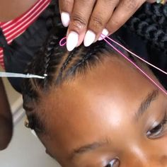 Black Kids Hairstyles, Natural Hairstyles For Kids, Baby Girl Hairstyles, Toddler Hairstyles, Kids Natural Hair, Young Girls Hairstyles, Little Girl Braid Hairstyles, Black Hairstyle, Easy Hairstyle