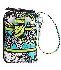 Vera Bradley Carry It All Wristlet- Island Blooms ( I want this soooo bad!)