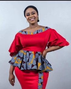 10 Pictures: Latest Ankara fashion styles - Beautiful African Designs View the best African fashion styles to create your own fabulous latest ankara styles. Get access to every asoebi and Ankara styles trending now. African Maxi Dresses, Latest African Fashion Dresses, African Dresses For Women, African Print Fashion, Africa Fashion, African Attire, Ankara Fashion, African Prints, African Fabric