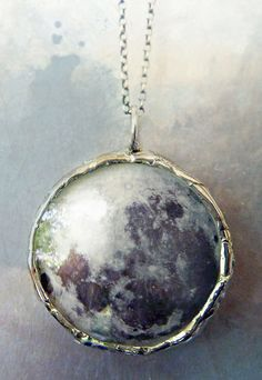 #Moon #Pendant #Necklace