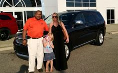 Rachel and her daughter from Nashville are picking up their top of the line 2013 Dodge Durango. Thank You Rachel! Her salesman is Tony Oxendine.