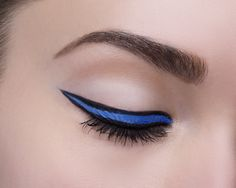 Make your cat eye even fiercer by filling it in with Maybelline Lasting Drama Gel Pencil in 'Lustrous Sapphire'. The pop of color is the perfect look for a spring evening event or summer backyard barbecue. Pair it with a glossy nude lip or go full bold with a bright pink pout.