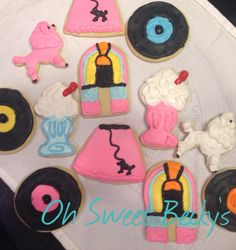 50's Themed Cookies