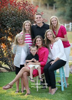 Heather Gibb family session