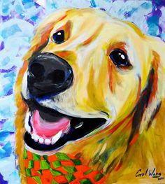 Dogs Painting on Behance
