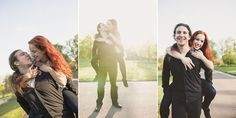 In love shoot - the most important thing for good photos is to be happy and yourself. I love to capture how special every couple is... Photo by Maria Luise Bauer Photography