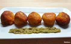 Nos encantan estas ricas croquetas de calabaza y queso del blog de BULALAICA.
