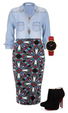 Polish up with New Look's pencil skirt collection. With free delivery options on offer, shop now for everything from tube skirts to denim pencil skirts. Dress Up Outfits, Chic Outfits, Dresses, African Print Pencil Skirt, Chill Style, My Style, Black Midi, Latest Fashion Design, African Design