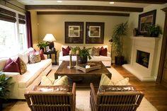 Tropical house interior design