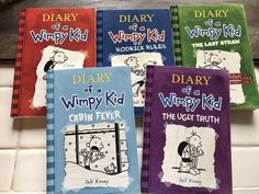 Lot of 10 diary of wimpy kiddork diarieszombie diary dork diary of a wimpy kid books ebay solutioingenieria Images