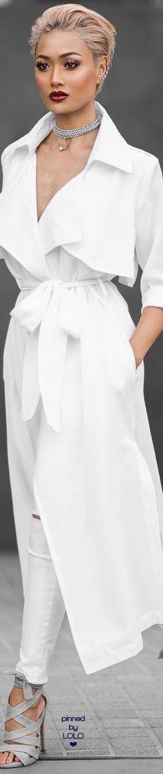 Micah Gianneli white jacket