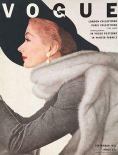 British Vogue, September 1951. Model: Lisa Fonssagrives.