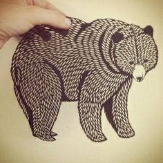 See what Emily Brown does with her incredible paper cuttings!