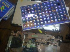 Man Sheby fixing laptop display