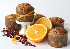 Sheek Shindigs: {What's Cooking} Cranberry-Orange Muffins