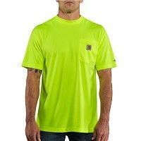 100493 Carhartt Force Color Enhanced Short-Sleeve T-Shirt