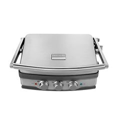 awesome Frigidaire Professional Stainless  5-in-1 Panini Grill / Griddle1,500 Watts