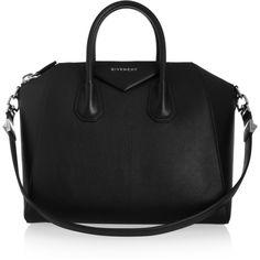 05d5d7682961 Black goat leather bag Mk Handbags