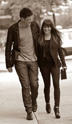 Cory & Lea spotted in Vancouver. Adorable.