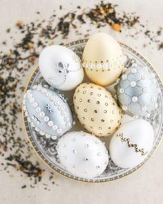 Faux-Fabergé Easter Tea Eggs