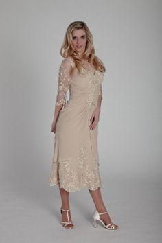Sexy Column V-Neck Euro Mother Of The Bride Dresses