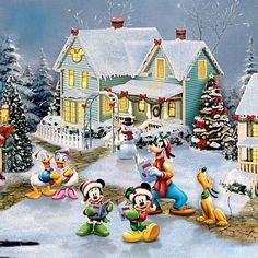 "♥ Thomas Kinkade ""Disney"" ♥"