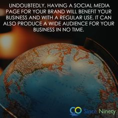 Undoubtedly, having a social media page your brand will benefit your business and with a regular use, it can also produce a wide audience for your business in no time. Social Media Pages, Social Media Marketing, Marketing Branding, Competitor Analysis, Benefit, Advertising, Business, Inspiration, Biblical Inspiration