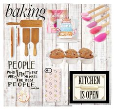 """""""Bake it"""" by kawaiifasole ❤ liked on Polyvore featuring interior, interiors, interior design, home, home decor, interior decorating, Core Home, Williams-Sonoma, Juliska and Casetify Interior Decorating, Interior Design, Cool Kitchens, Williams Sonoma, Baking, Eat, Casetify, Polyvore, Core"""