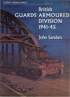 Livre - Revue British Guards Armoured Division - VANGUARD 09