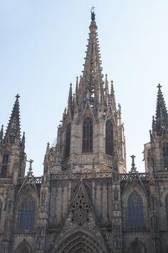 El Barri Gòtic- Catedral de Barcelona// Gothic Quarter- Cathedral of Barcelona, Spain