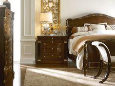 Henredon Osterley Manor Bed #bedroom