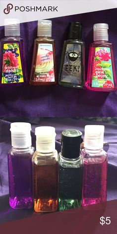 Antibacterial hand gel by Bath and Body Works 4 hand gels, never been used! Smell amazing! Bath and Body Works Other