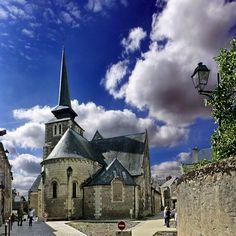 eglise St-Pierre-St-Romain.Savennières, Pay de la Loire