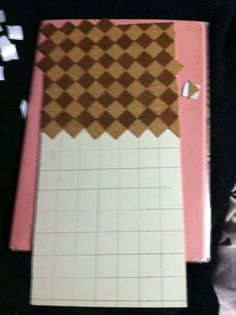 Just a Small Thing: How to: Cork floor and other things using $1 scrapbook cork paper