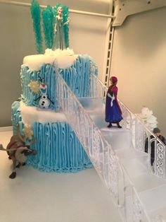 One of my Frozen Cake Designs