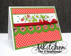 On A Stampage...: Sweet Stamps: GDT + It's Summer!