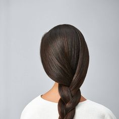 Brunette, simple, classic