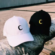 Crescent Moon Sailor Moon Tumblr Style Embroidered Baseball Cap Baseball Hat 56ea4fcf0073b