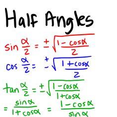 Trig Identities Calculus, Algebra, College Physics, Math Formulas, Future Classroom, Circuits, Study Tips, Teaching Math, College Life