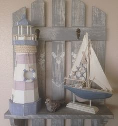 nautical bathroom accessories. 1 of 3  Shabby Wooden Lighthouse Chic Nautical Decor Beach Coast Seaside Theme Bathroom nautical accessories beach word wooden words Natical