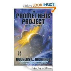 The Prometheus Project (Book 1): Trapped.    Highly recommend this 3-book series for kids ages 9-12, though as an adult, I loved the books too.  Great science fiction with science/problem-solving elements.