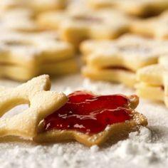 Galletas estrellas de navidad