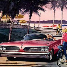 Art Fitzpatrick & Van Kaufman #Pontiac #vintage #print #ad