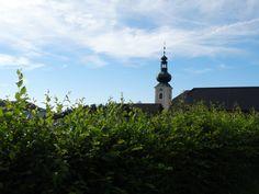 Blick auf die Pfarrkirche St. Jakob im Walde. #jogllandwaldheimat #urlaub #natur #region (c) TV Joglland-Waldheimat Nina Benak